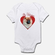 Chow Valentine Infant Bodysuit