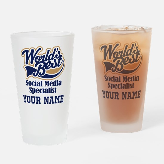 Social Media Specialist Personalized Gift Drinking