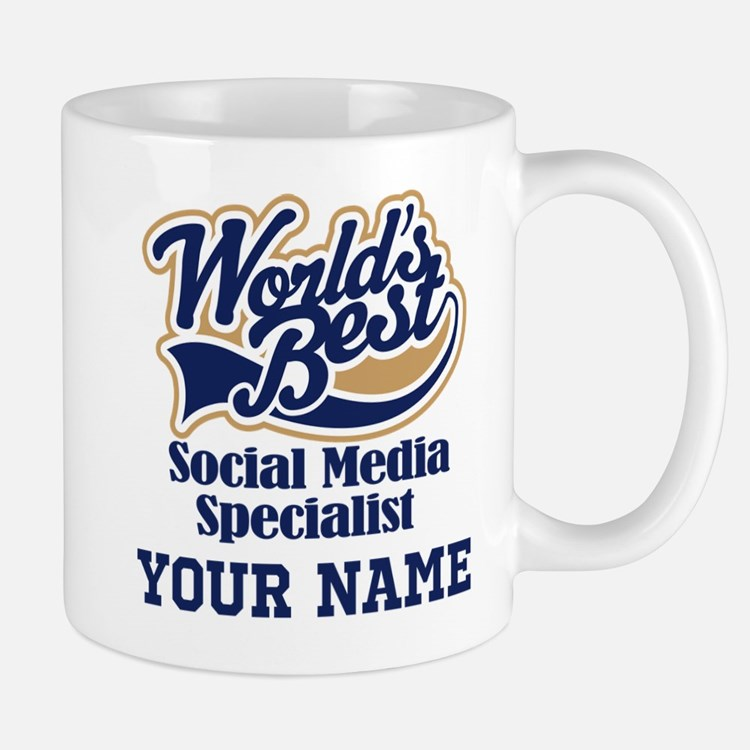 Social Media Specialist Personalized Gift Mugs