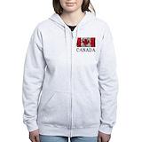 Canada Zip Hoodies