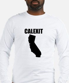 Calexit Trump California Long Sleeve T-Shirt