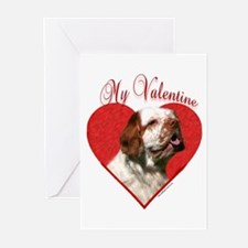 Clumber Valentine Greeting Cards (Pk of 10)