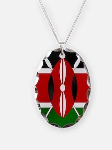 Flag of Kenya Necklace