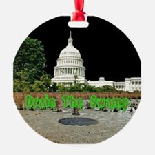 Drain The Swamp Ornament