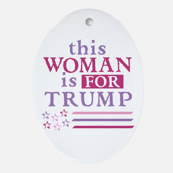 FOR Trump Oval Ornament