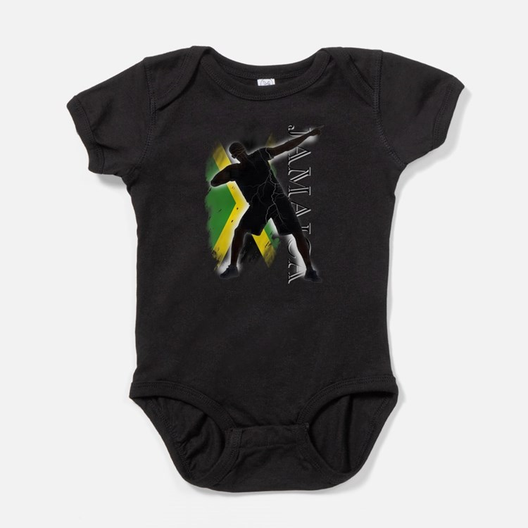 Jamaica - as fast as lightning! - Body Suit