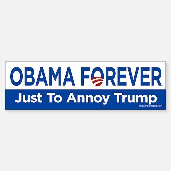 Obama Forever Bumper Bumper Bumper Sticker