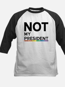 Not My President - LGBTQ Baseball Jersey