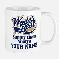 Supply Chain Analyst Personalized Gift Mugs