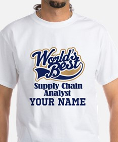 Supply Chain Analyst Personalized Gift T-Shirt