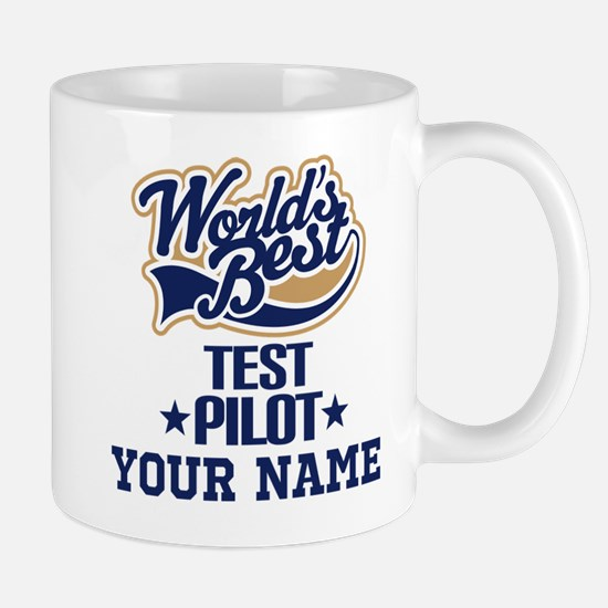 Test Pilot Personalized Gift Mugs