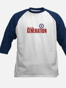 MY GENERATION Kids Baseball Jersey