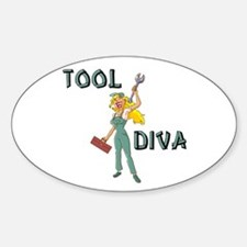 Tool Diva 2 Oval Decal