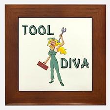 Tool Diva 2 Framed Tile