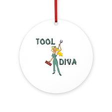 Tool Diva 2 Ornament (Round)