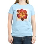 Coral Red Daylily Women's Light T-Shirt