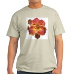Coral Red Daylily Light T-Shirt