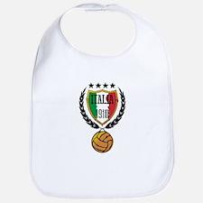 Italia retro soocer Baby Bib