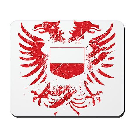 Poland Grunged Mousepad