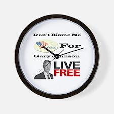 Cute Gary Wall Clock