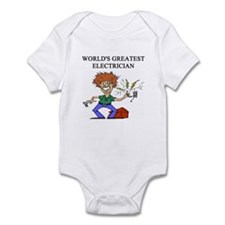 electrician gifts t-shirts Infant Bodysuit