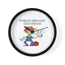 electrician gifts t-shirts Wall Clock