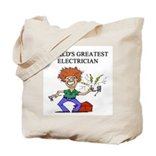 electrician gifts t-shirts Tote Bag