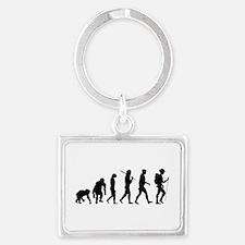 Hiking Evolution Keychains