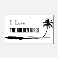 I Love Golden Girls Car Magnet 20 x 12