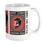 Chairman Meow - Cat Revolution Large Mug