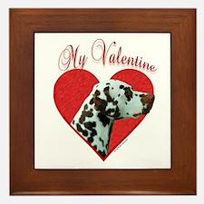 Dal(liver) Valentine Framed Tile
