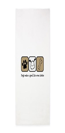 Dogs Make a Good Life Even Better Area Rug