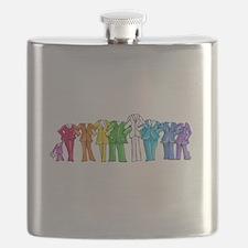 Pantsuit Nation Flask