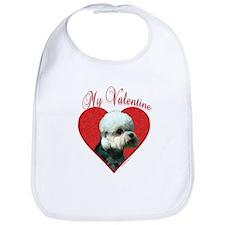Dandie Valentine Bib