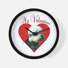 Dandie Valentine Wall Clock