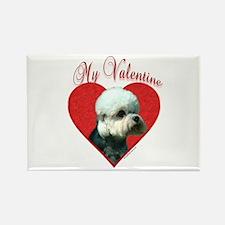 Dandie Valentine Rectangle Magnet (100 pack)