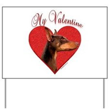 Dobie Valentine Yard Sign