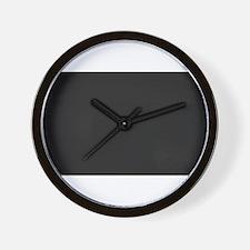 Blank Blackboard Wall Clock