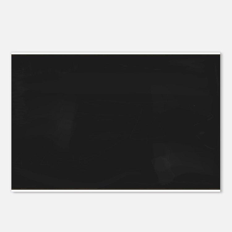 Blank Blackboard Postcards (Package of 8)