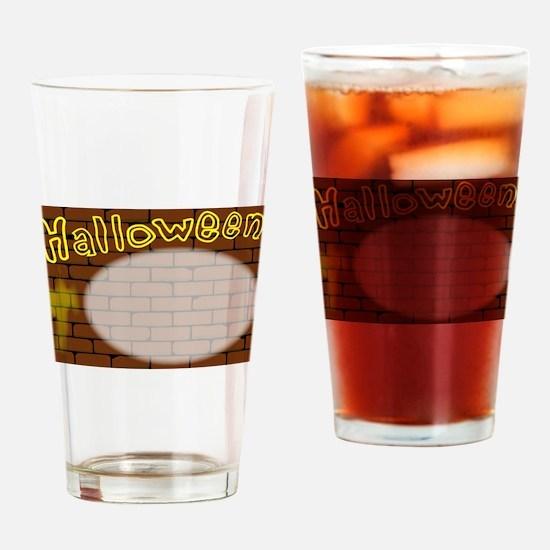 Halloween Invite Drinking Glass