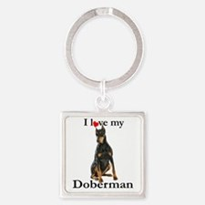 Love my Doberman Keychains