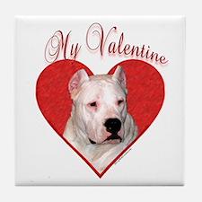 Dogo Valentine Tile Coaster