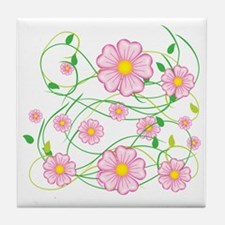 Cute Dillo Tile Coaster