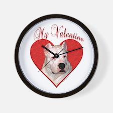 Dogo Valentine Wall Clock