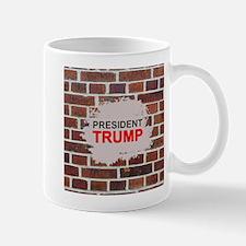 President Trump Wall Mugs