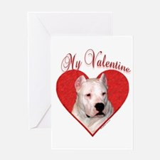 Dogo Valentine Greeting Card