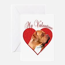 Dogue Valentine Greeting Card