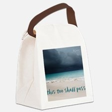This Too Shall Pass Canvas Lunch Bag