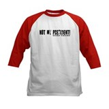 Trump not my president kids Baseball Jersey
