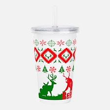 Christmas beer Acrylic Double-wall Tumbler